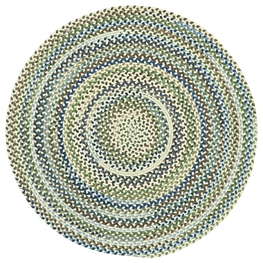 August Grove Florence Beige Area Rug; Round 9'6''