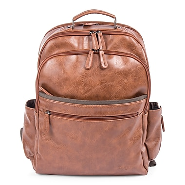 Valentino Backpack in PU, Cognac