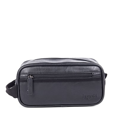 Valentino Toiletry Bag in PU, Black