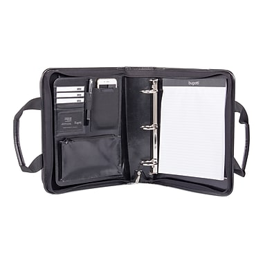 Bugatti Ring Binder Polyester, Black