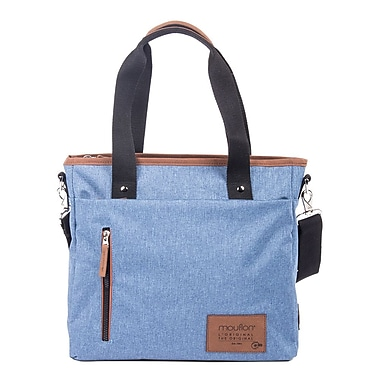 Wander Tote Bag In Polyester, Indigo