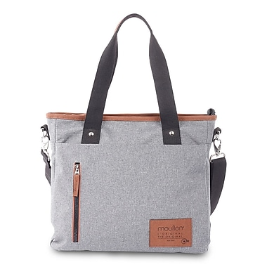 Wander Tote Bag In Polyester, Grey