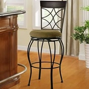 Alcott Hill Reading 24'' Swivel Bar Stool w/ Cushion