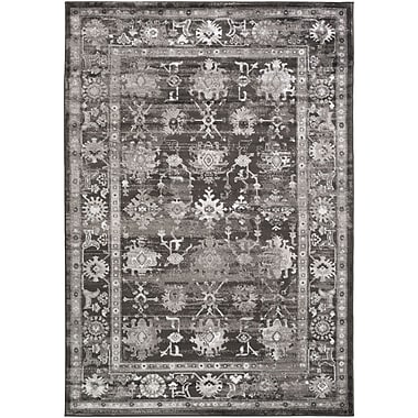 Alcott Hill Broadview Gray Area Rug; 5'2'' x 7'6''