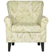 Alcott Hill Montgomery Arm Chair; Green