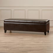 Alcott Hill Geffray Storage Bedroom Bench