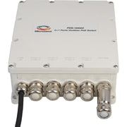 Microsemi PDS-104GO 4+1 Outdoor Switch, 60W Per Port, Managed PoE, AC Input
