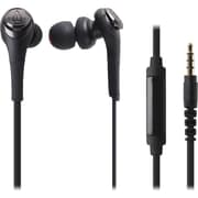 Audio-Technica Solid Bass In-Ear Headphones with In-line Mic & Control (1Y7929)