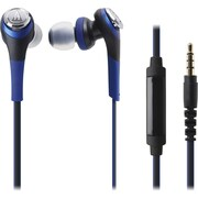 Audio-Technica Solid Bass In-Ear Headphones with In-line Mic & Control (1Y7931)