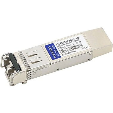 AddOn Finisar FTLF8526P3BNL Compatible TAA Compliant 6GBase-SW SFP+ Transceiver (MMF, 850nm, 300m, LC, DOM)