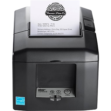 Star Micronics TSP654IIBI2-24OF GRY US Direct Thermal Printer, Monochrome, Desktop, Receipt Print