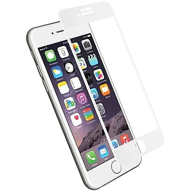Cygnett RealCurve 9H Tempered Glass Screen Protector for iPhone 7, White White, Clear