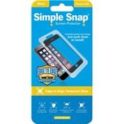 ReVamp Simple Snap Screen Protector Black, Transparent (8E1488)