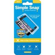 ReVamp Simple Snap Screen Protector Black, Transparent (8E1490)