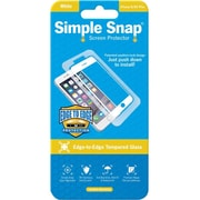ReVamp Simple Snap Screen Protector White, Transparent (8E1491)