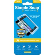 ReVamp Simple Snap Screen Protector Black, Transparent (8E1492)