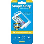 ReVamp Simple Snap Screen Protector White, Transparent (8E1493)