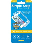 ReVamp Simple Snap Screen Protector White, Transparent (8E1495)