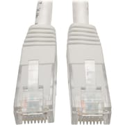 Tripp Lite 7ft Cat6 Gigabit Molded Patch Cable RJ45 M/M 550MHz 24 AWG White