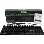 Plugable Full Size 104-Key Mechanical Keyboard