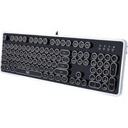 Adesso AKB-636UB Desktop Mechanical Typewriter Keyboard