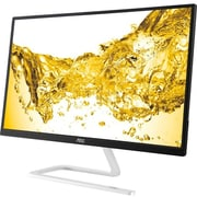 "AOC Monitor 22"" Class IPS Panel Full HD 1920x1080 Frameless VGA HDMI I2281FWH"