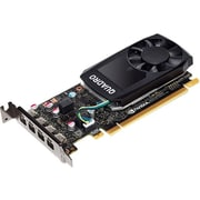 PNY Quadro P600 Graphic Card, 2 GB GDDR5, PCI Express 3.0 x16, Low-profile, Single Slot Space Required