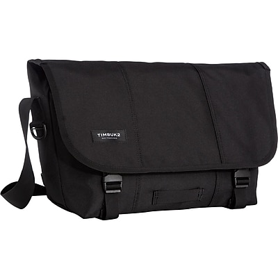 Timbuk2 Classic Carrying Case (Messenger) for Bottle, File, Pen, Cell Phone, Accessories, Jet Black (4T9891)