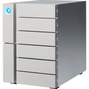 LaCie 6big STFK48000400 DAS Array, 6 x HDD Supported, 6 x HDD Installed, 48 TB Installed HDD Capacity