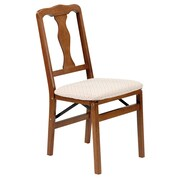 Alcott Hill McCain Side Chair (Set of 2); Fruitwood