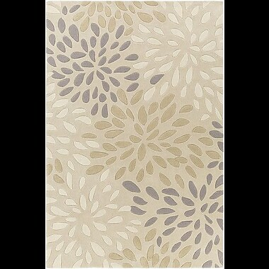 Alcott Hill Carrie Hand-Tufted Ivory Area Rug; 2' x 3'