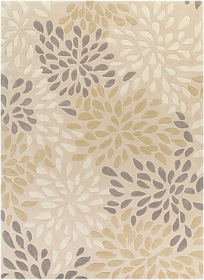 Alcott Hill Carrie Hand-Tufted Ivory Area Rug; 8' x 11'