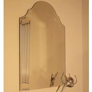 Alcott Hill Regal Frameless Mirror; 32'' H x 22'' W