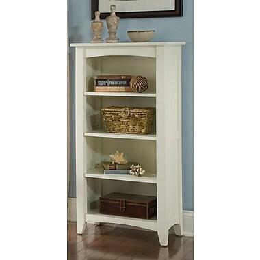 Alcott Hill Bel Air 48'' Standard Bookcase; Ivory