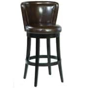 Alcott Hill Wapping 30'' Swivel Bar Stool w/ Cushion