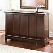 Red Barrel Studio Covington Counter Bar w/ Wine Storage