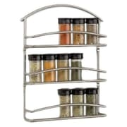Rebrilliant Wall-Mounted Spice Rack in Black