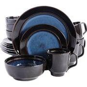 Mint Pantry  16 Piece Stoneware Dinnerware Set; Blue