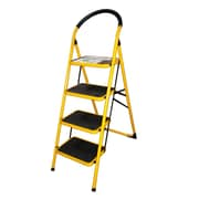 KoleImports 4-Step Metal Step Ladder w/ 300 lb. Load Capacity