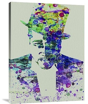 Naxart 'Duke Ellington Watercolor' Graphic Art Print on Canvas; 32'' H x 24'' W x 1.5'' D