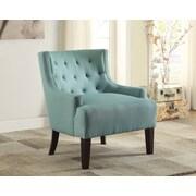 Alcott Hill Royersford Arm Chair; Teal