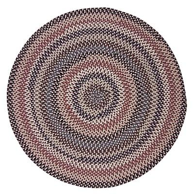 Alcott Hill Lettie Purple Area Rug; Oval 3' x 5'