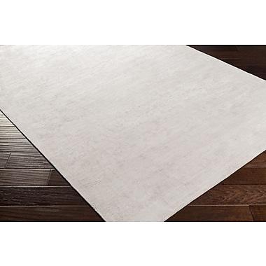 Alcott Hill Goldston Hand-Woven Medium Gray Area Rug; 8' x 10'