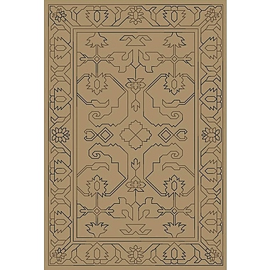 Astoria Grand Singita Hand Woven Gray Area Rug; 4' x 6'