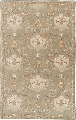 Astoria Grand Kempinski Hand-Tufted Gray Area Rug; 2' x 3'