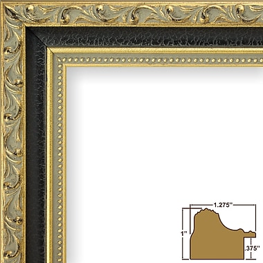 Astoria Grand 1.28'' Wide Ornate Picture Frame; 20'' x 20''