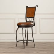 Astoria Grand Hailes 24'' Swivel Bar Stool