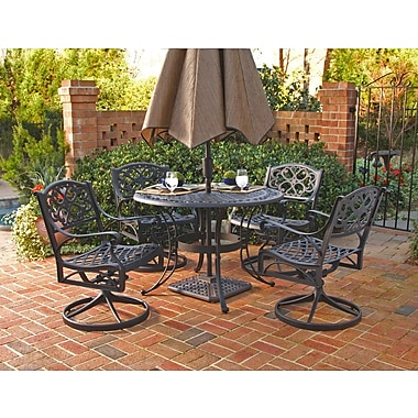 Astoria Grand Van Glider 5 Piece Outdoor Dining Set