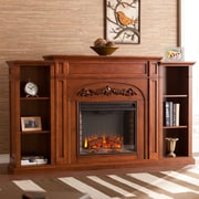 Astoria Grand Grandmasters 42'' Bookcase Electric Fireplace