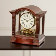 Astoria Grand Traditional Brass Mantel Clock